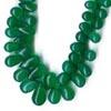 Green Onyx Briolettes