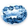 Topaz Blue CZ